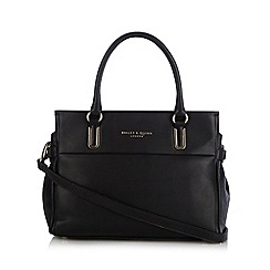 Bailey & Quinn - Black 'Senna' large leather tote bag