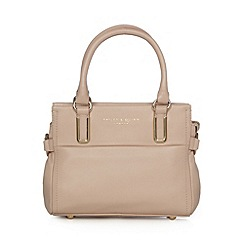 Bailey & Quinn - Pale pink 'Senna' small leather tote bag