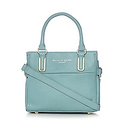 Bailey & Quinn - Light blue 'Senna' leather small tote bag