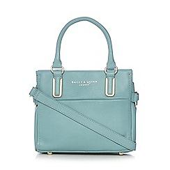 Bailey & Quinn - Light blue 'Senna' leather small tote bag