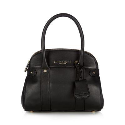 Bailey & Quinn Black ´Azami´ leather small dome bag - . -