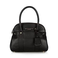 Bailey & Quinn - Black 'Azami' leather small dome bag