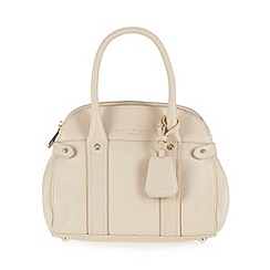 Bailey & Quinn - Cream 'Azami' leather small dome bag