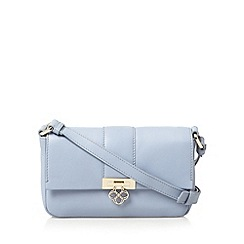 Bailey & Quinn - Light blue 'Heather' small leather cross body bag