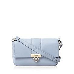 Bailey & Quinn - Light blue 'Heather' small leather cross body bag