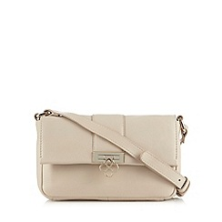 Bailey & Quinn - Cream 'Heather' small leather cross body bag