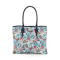 Bailey & Quinn - Navy 'Ways to wear' large floral tote bag