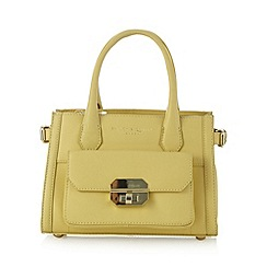 Bailey & Quinn - Light yellow 'Alyssa' pocket grab bag