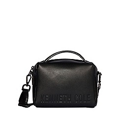 Todd Lynn/EDITION - Designer black crackled tote bag