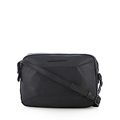 Todd Lynn/EDITION - Designer black leather small cross body bag