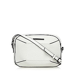Todd Lynn/EDITION - Designer white leather small cross body bag