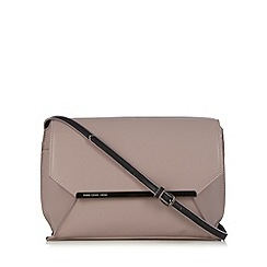 Todd Lynn/EDITION - Designer light pink metal bar cross body bag