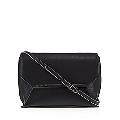 Todd Lynn/EDITION - Designer black metal bar cross body bag