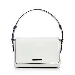 Todd Lynn/EDITION - Designer white leather underarm shoulder bag