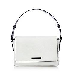 Todd Lynn/EDITION - Designer white leather underarm shoulder bag