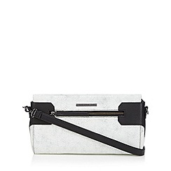 Todd Lynn/EDITION - Designer black crackled cross body bag