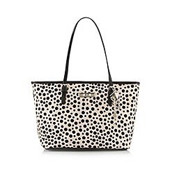 Floozie by Frost French - Light pink glittery spotted tote bag