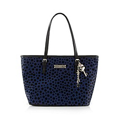 Floozie by Frost French - Navy glittery spotted tote bag