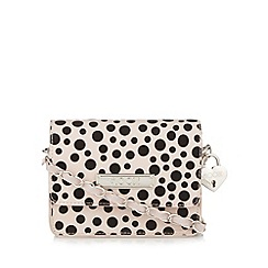Floozie by Frost French - Light pink spotted glitter mini cross body bag