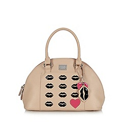 Floozie by Frost French - Natural lip applique dome bag