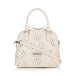 Floozie by Frost French - Cream daisy shoulder bag