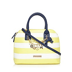 Floozie by Frost French - Light yellow nautical charm kettle bag