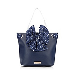 Floozie by Frost French - Navy flamingo scarf grab bag