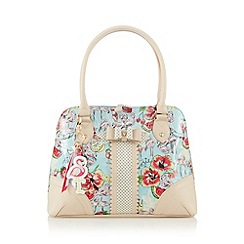 Floozie by Frost French - Light blue flamingo print shoulder bag