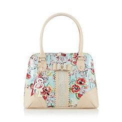 Floozie by Frost French - Light blue flamingo print shoulder bag