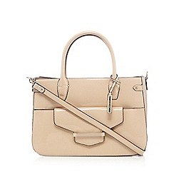 J by Jasper Conran - Light pink patent bar tab tote bag