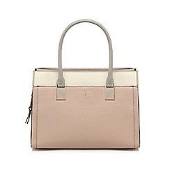J by Jasper Conran - Pink textured rectangular grab bag