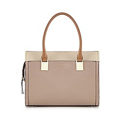 J by Jasper Conran - Pink colour block tote bag