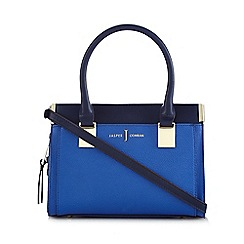 J by Jasper Conran - Blue bar colour block grab bag