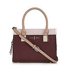 J by Jasper Conran - Purple bar fitting colour block grab bag