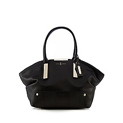 J by Jasper Conran - Black slouch bar shoulder bag