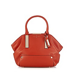 J by Jasper Conran - Orange slouch bar small shoulder bag