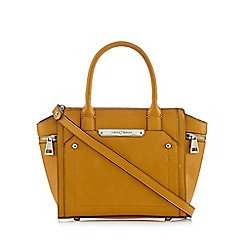 J by Jasper Conran - Dark yellow winged grab bag