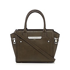 J by Jasper Conran - Designer khaki winged grab bag