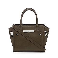 J by Jasper Conran - Designer khaki winged grab bag