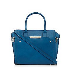 J by Jasper Conran - Designer blue winged large grab bag