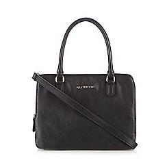 RJR.John Rocha - Designer black double zip grab bag