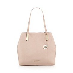 RJR.John Rocha - Designer light pink leather grab bag