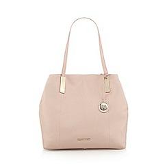 RJR.John Rocha - Designer light pink leather grab bag