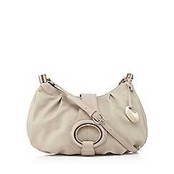 RJR.John Rocha - Natural egg fitting cross body bag