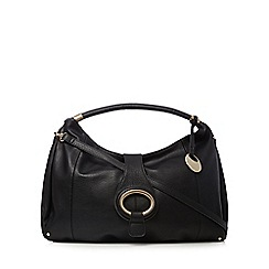 RJR.John Rocha - Black egg fitting hobo bag