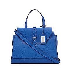 Betty Jackson.Black - Designer bright blue tab grab bag