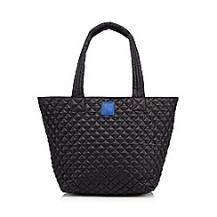 Betty Jackson.Black - Designer black quilted shopper bag