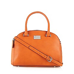 Betty Jackson.Black - Designer orange medium dome bag