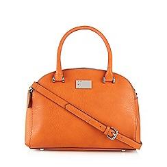 Betty Jackson.Black - Designer orange medium dome bag