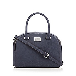 Betty Jackson.Black - Designer blue mock croc dome bag